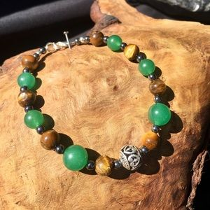 Jewelry - Tiger eye dark aventurine bracelet